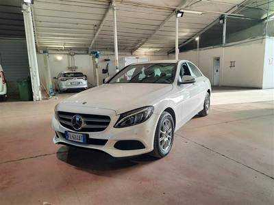 Mercedes-Benz classe C 2014 4 PORTE BERLINA 180 D BUSINESS AUTOMATI