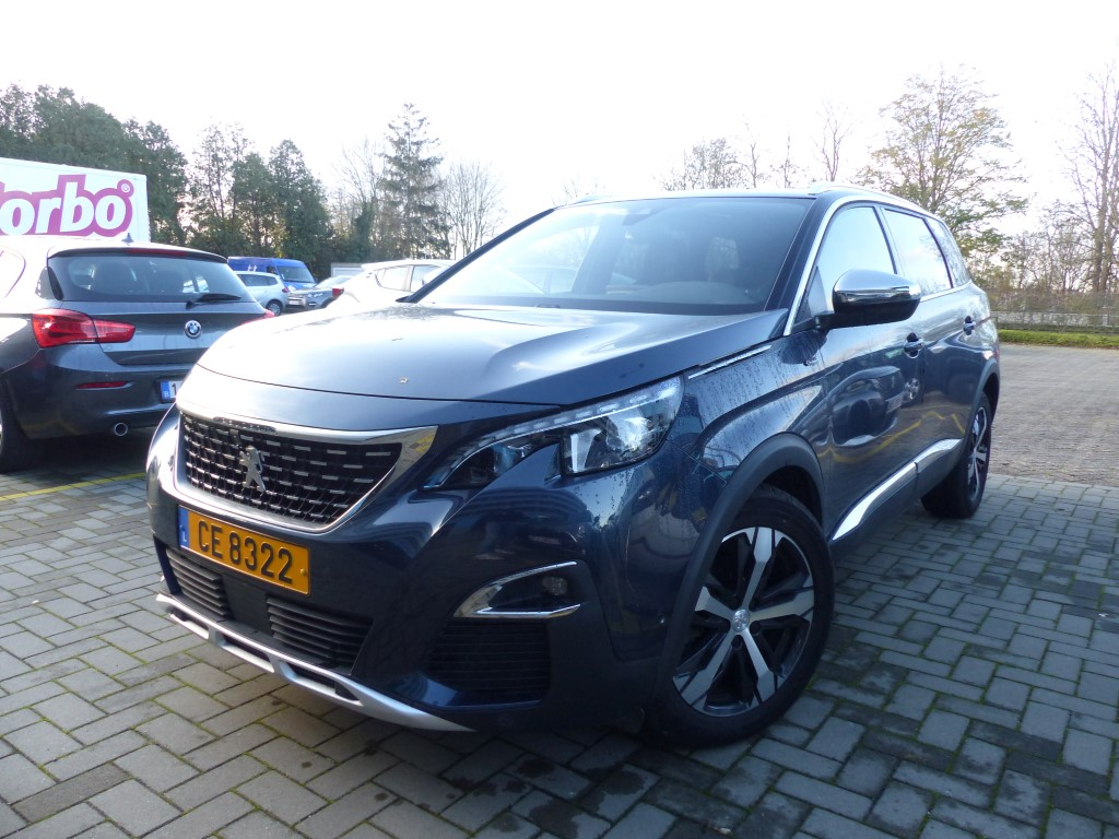 Peugeot 5008 BLUEHDI 180PK GT EAT8 Pack Electric & Massage & Visiopark II & Drive Assist & Safety & Focal Hifi
