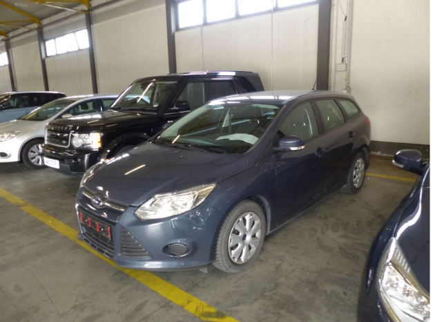 Ford Focus turnier trend 1.6 TDCI 85KW MT6 E5