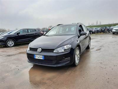 VOLKSWAGEN GOLF VII 2013 VARIANT 1.6 TDI BUSINESS BLUEMOTION TECH.
