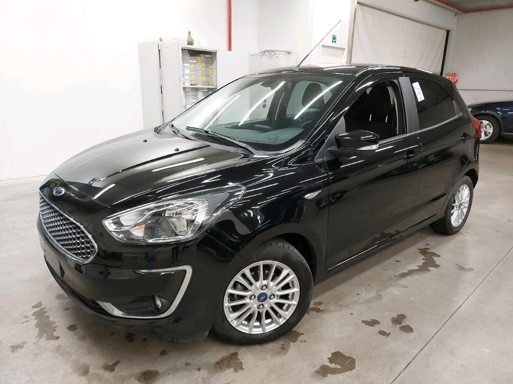 Ford KA + 12I 85PK Ultimate Pack Winter & Cool And Sound & Comfort & Driver Assist PETROL