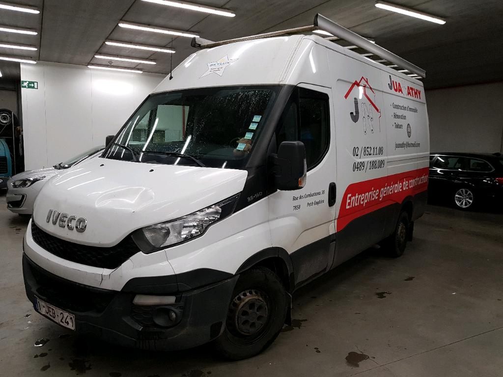 Iveco Daily 35s DAILY 35S 146PK MWB HR 35S15V 3520L Connect GPS & Rear Cam & Climatic