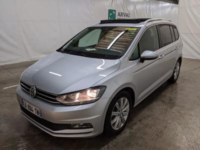 Volkswagen Touran 2.0 TDI 150 DSG6 Carat BMT / TOIT OUVRANT PACK DRIVE ASSIST II ATTELAGE RETRACTABLE KEYLESS ACCESS