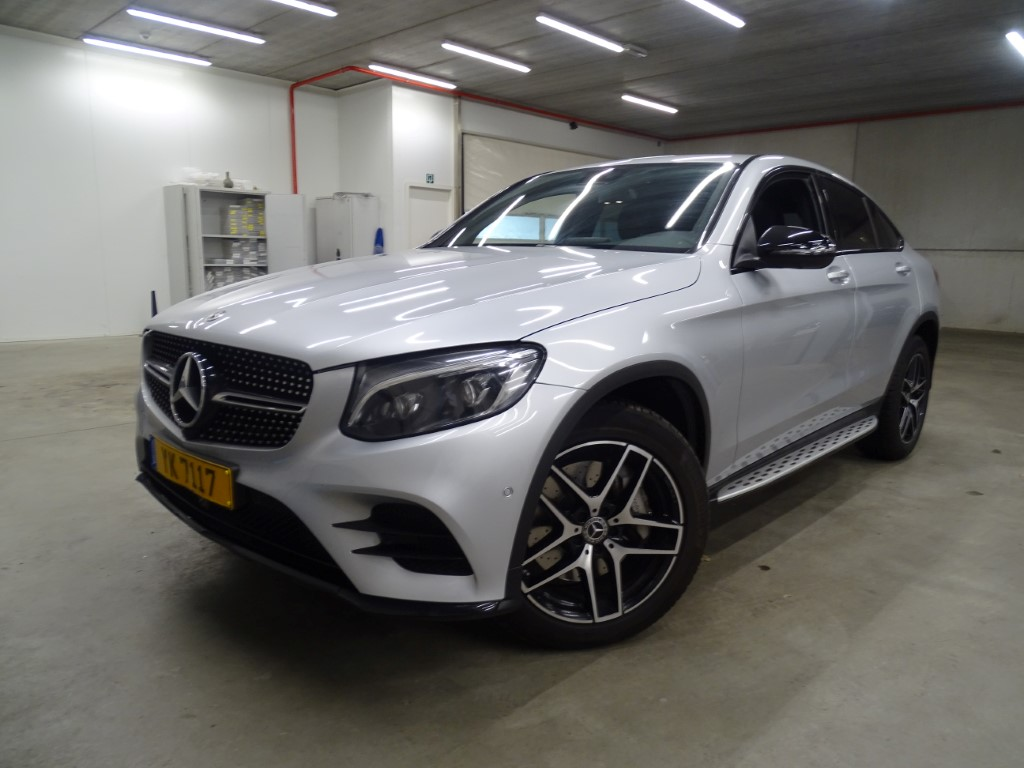 Mercedes-Benz Glc coup GLC COUPE 220 d 170PK DCT 4MATIC AMG Line Pack Professional & Design & Command Online & Park 360 & Night & Safety Pack
