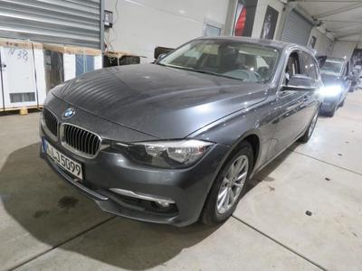 BMW Baureihe 3 Touring 318d Luxury Line 2.0 110KW Leder AT8 E6