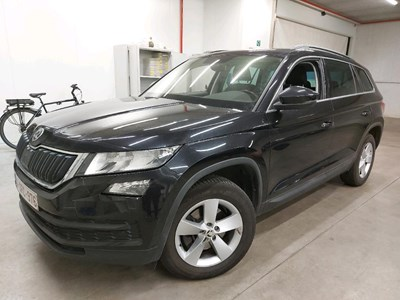Skoda KODIAQ KODIAQ TDI 150PK DSG7 Pack Ambition Comfort & GPS & Area View 360 Cam & Pack Leather & 7 Seat Config