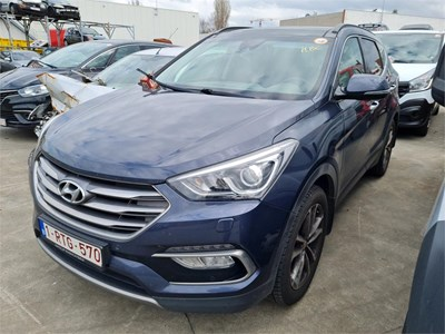 Hyundai Santa FE SANTA FE CRDI 4WD 200PK TOTAL LOSS EXECUTIVE Pack Family 4WD