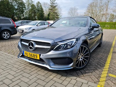 Mercedes-Benz C cabriolet C CABRIOLET 400 333PK DCT 4MATIC AMG Line Command Online & Burmester Sound & Airmatic Agility & Comfort Cabrio Pack & LED Intell