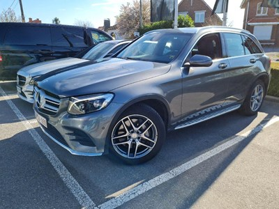 Mercedes-Benz GLC GLC 250 D 204PK DCT LAUNCH EDITION AMGLine Pack Leather & Air Body Suspension & Alloy Look Sie Steps & Parktronic With Camera