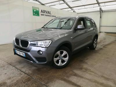 BMW X3 20i Lounge Plus 184 BVA8 sDrive ESSENCE Toit pano