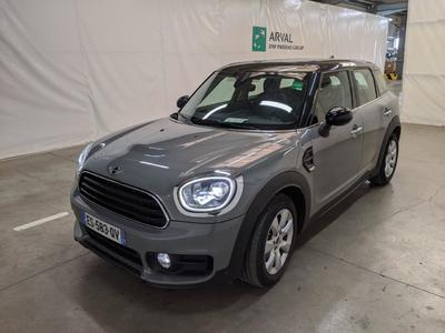 MINI Countryman 5p Crossover Cooper D Finition Red Hot Chili 150 BVM6/TOIT PANO