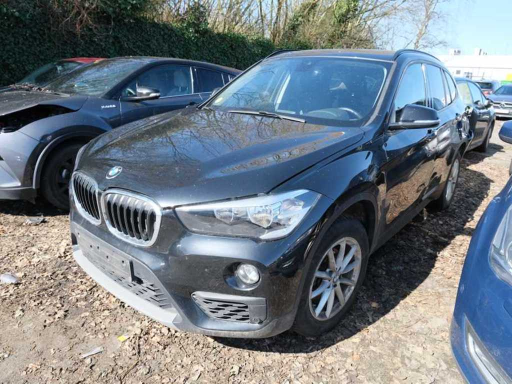 BMW X1 sdrive16d (85 kW) 5d Damaged Car Rolling Car