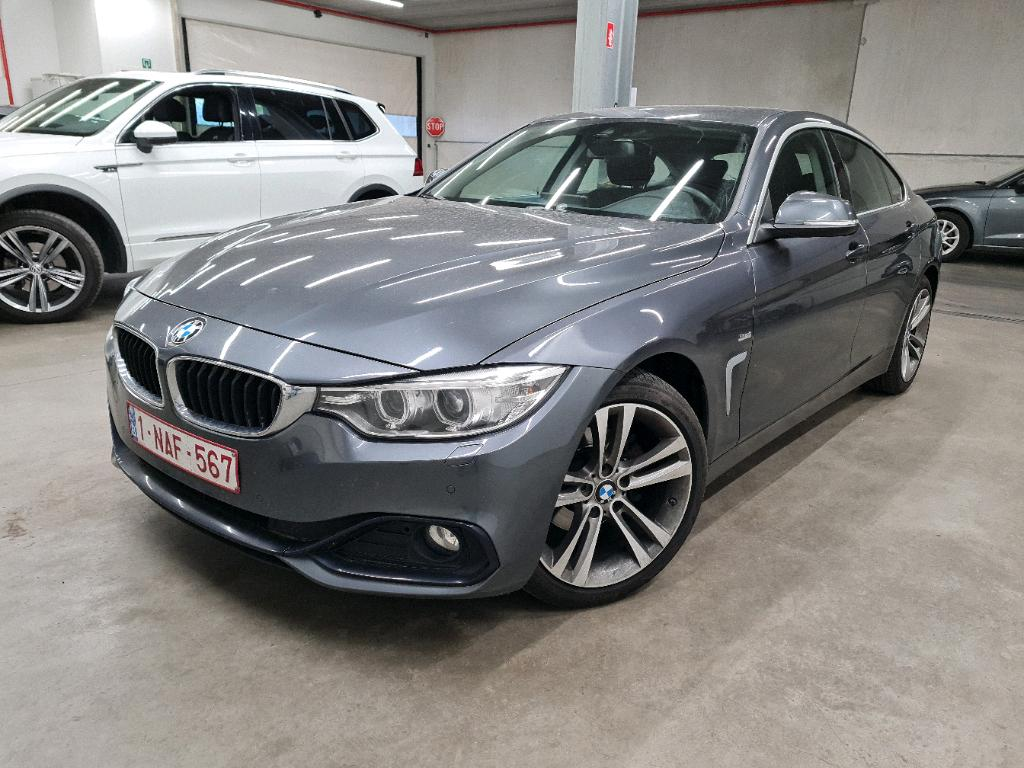 BMW 4 gran coupe 4 GRAN COUPE 418D 150PK Sport Pack Comfort With Nav Pro & Driving Assistant