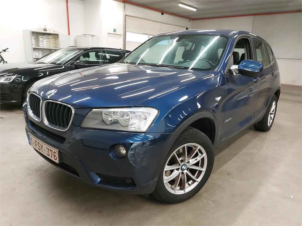 BMW X3 X3 xDrive20i 184PK Pack Business Line Plus With Nevada Leather Heated Seats & Rear Cam & Top View PETROL