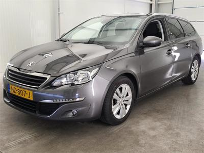 Peugeot 308 SW blue Lease Executive 16 HDi 120 5d