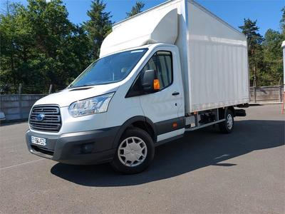 Ford Transit VU chassis cabine T 350 L4 TREND 20 l ecob 130 / CAISSE HAYON