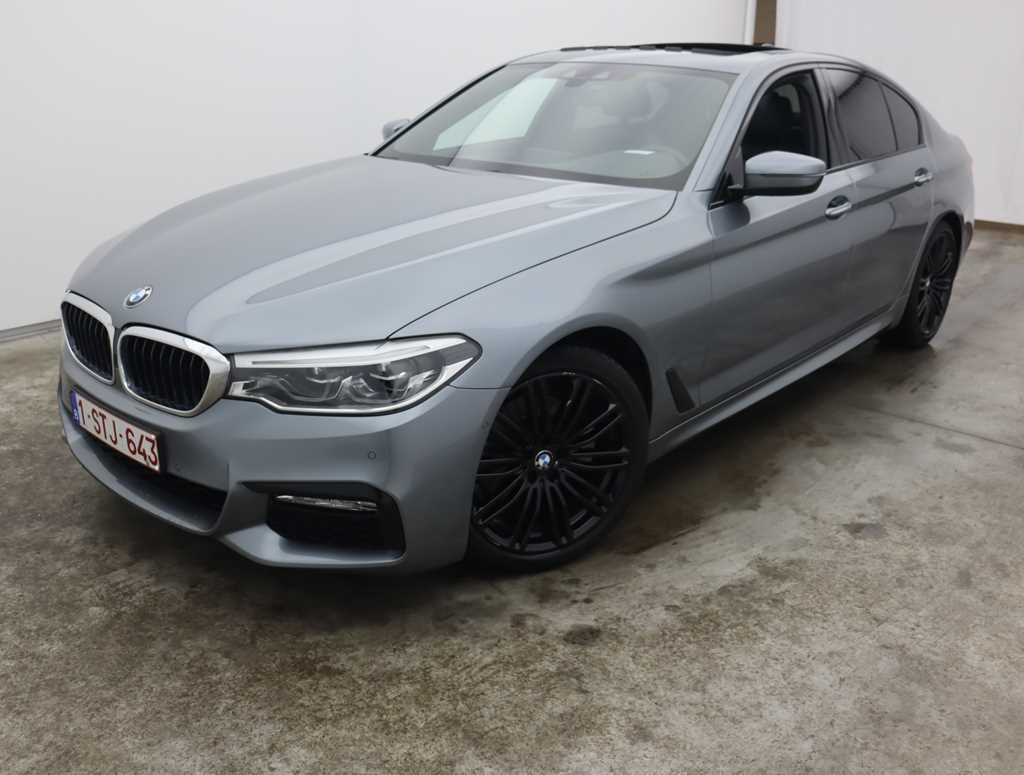 {make} BMW 5 Reeks Berline 520d 120kW Aut. 4d M-Sportkit (total options; 16 876,02 Ex.VAT)