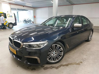BMW 5 berline 5 BERLINE M550iA xDrive 462PK MSport Pack Innovation Comfort+& Pack Business & Safety & Front Mem Seats & Trunk Control & Pano R