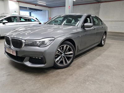 BMW 7 berline 725dA 211PK MSport With Driving Assistant & Head Up & Soft Close Doors & 19 Inch Alloy