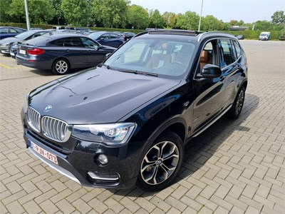 BMW X3 X3 XDRIVE20D 163PK XLine Pack Business With Nav Pro & Pano Roof