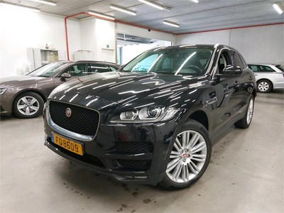 Jaguar F-PACE FPACE D 180PK AUTO 4x4 Limited Edition Prestige & Electric Boot & Electric SunRoof & 20 Inch Alloy