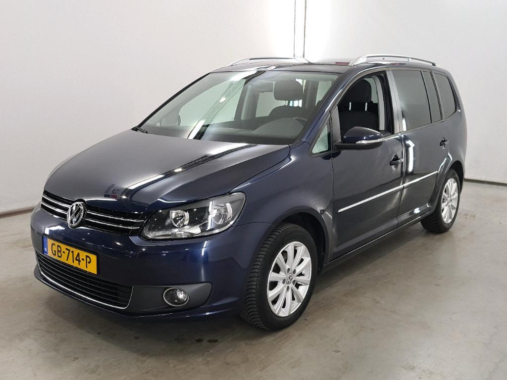 VOLKSWAGEN Touran 1.6 TDI 105pk 7-DSG BlueMotion Technology 7p Highline